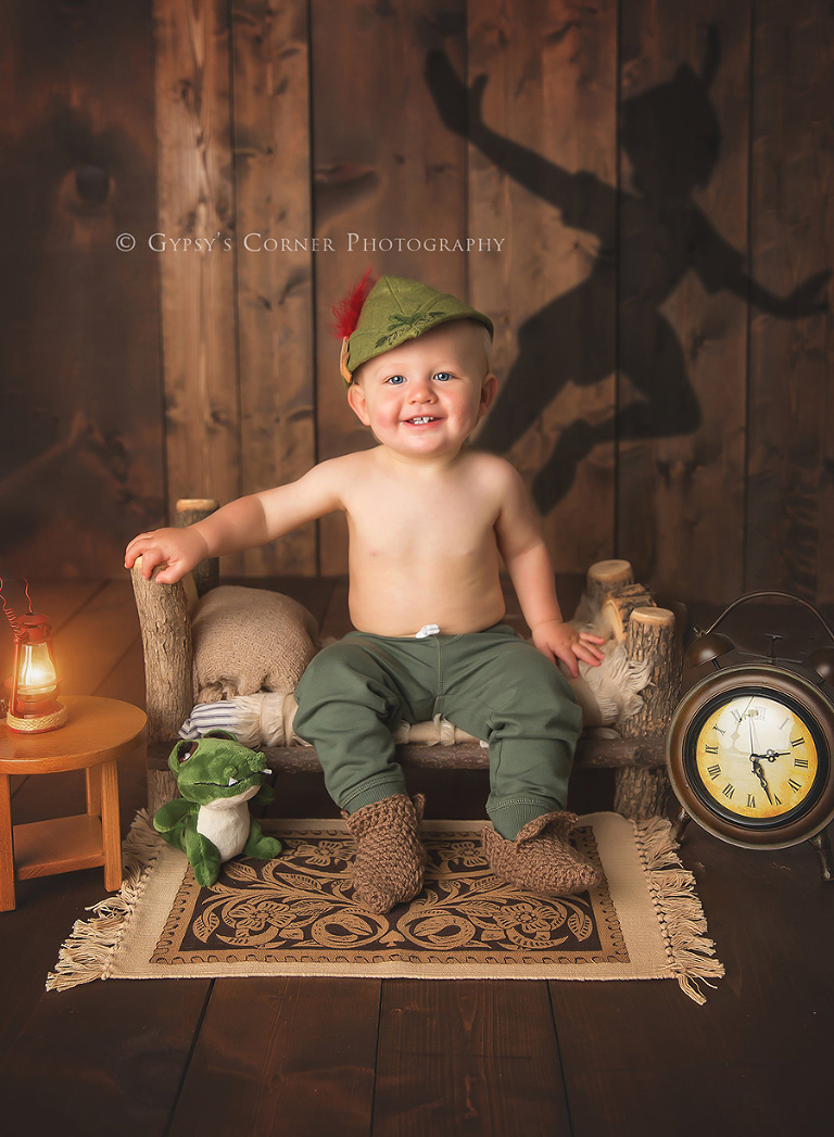 Peter Pan Themed Cake Smash By Gypsy S Corner Photography
