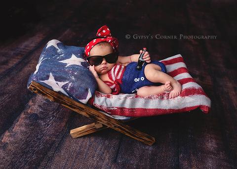 Buffalo-Newborn-Photographer-Happy-Birthday-America